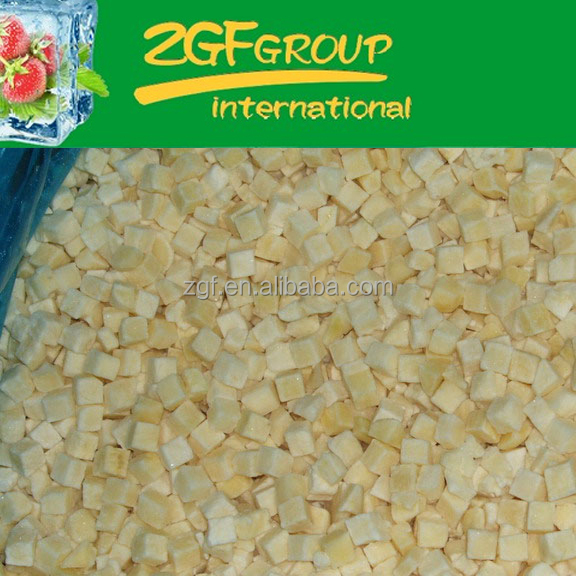 IQF Frozen fresh potato price india in good quality in bulk