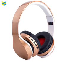 Over ear handsfree wireless v4.0 bluetooth earphone headset noise cancelling bluetooth stereo headphone