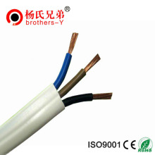 Flat Copper and Aluminum Flexible Electrical Power Cable Wire