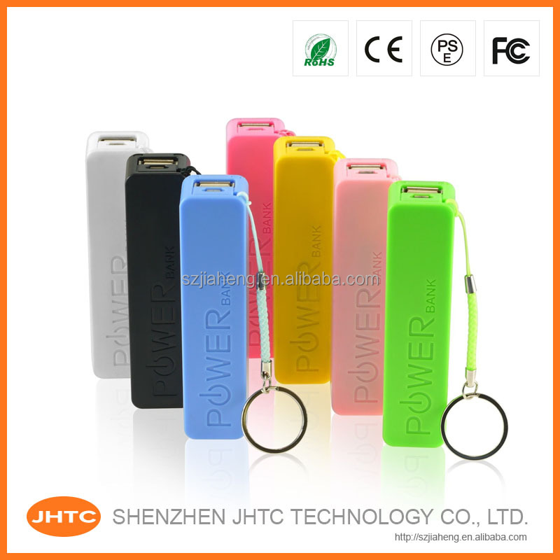Cheapest Factory Wholesale Promotional Gift perfume 2600mah power bank,Mini Keychain Manual for Power Bank Battery Charger