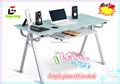 GX-1209 modern glass office desk design