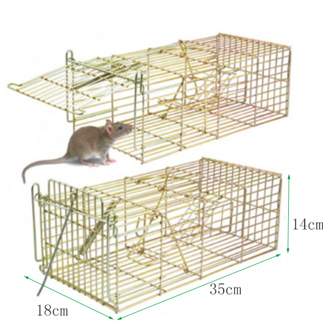 galvanized steel cages rodent/mice cather mouse/rat trap SX-5012