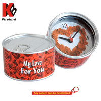 Best Valentine's Day gift magnetic tin can shape personalized souvenir gift