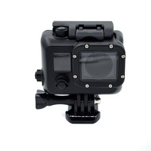 Gopros waterproof case Gopros Black Housing For Gopro Hero4/3+/3 Camera with Bracket,Black Waterproof Case GP28B
