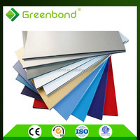 Greenbond aluminum trailer wall panels for exterior decorative with deep discount