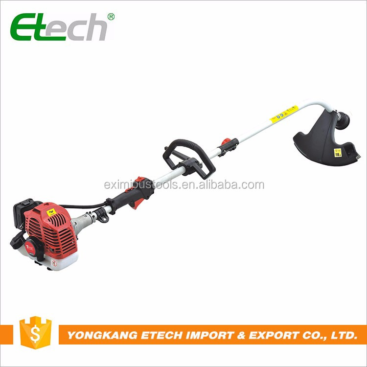 China supplier 52cc petrol brush cutter and grass trimmer