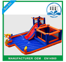 2017 China factory Hot Sale giant Inflatable water slide