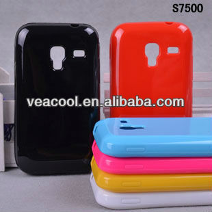 Candy TPU Soft Back Phone Case Cover for Samsung Galaxy Ace Plus S7500
