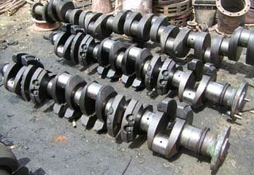 Yanmar Engine Crankshaft