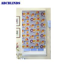 Home Decoration Burnt-out Plain Roller Blind For European