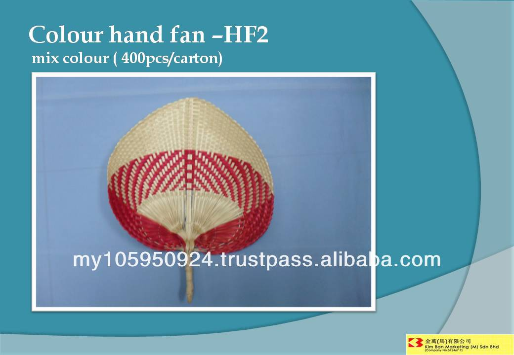 Colour Hand Fan - HF2