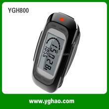 YGH800 Custom Printing 3D Pedometer with Memory Step Counter