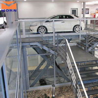 underground car scissor lift