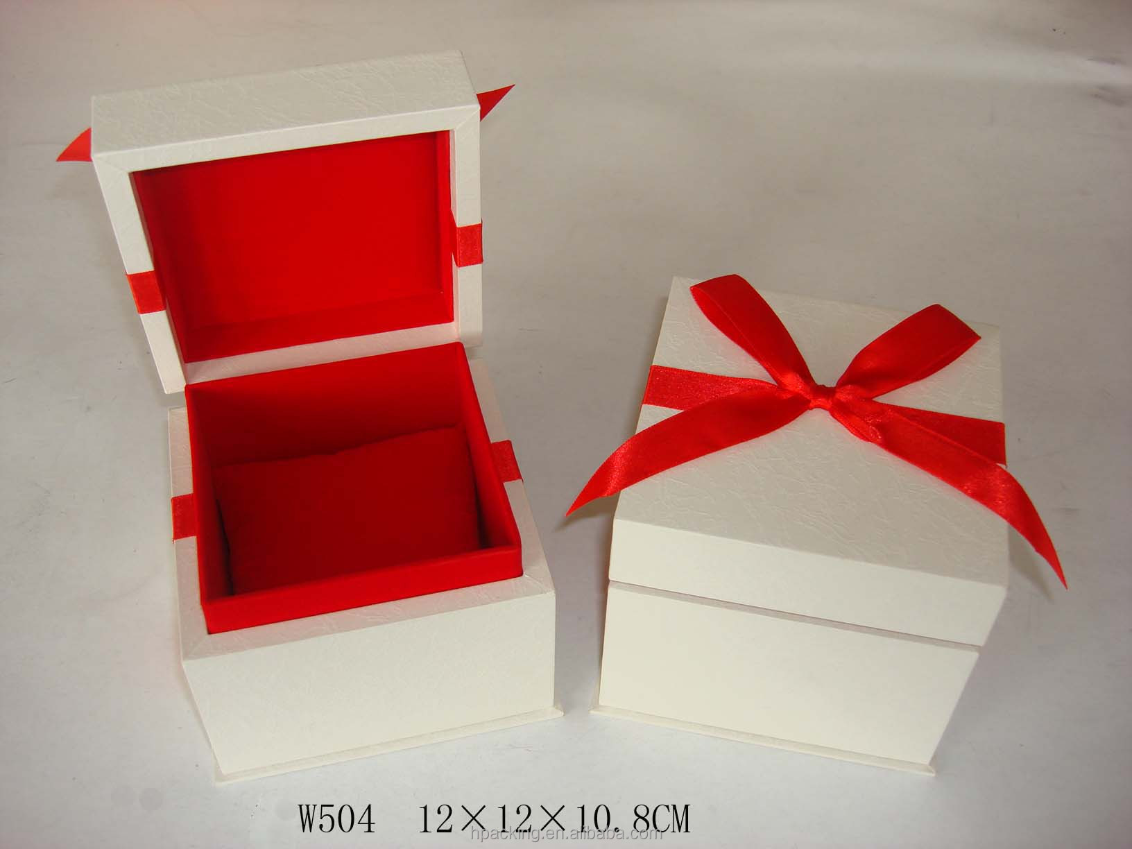 gorgeous square custom made watch boxes W504