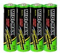 Flashlight LR6 AA Alkaline battery 1.5V