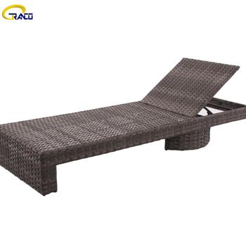 Cheap popular outdoor patio daybed