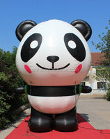 hot-selling waha customized giant inflatable panda popular !!!!