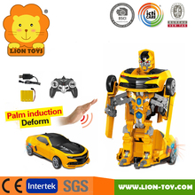 Chevrolet camaro RC Transformation Robot Cars Toys car Deformation RC Radio control Robot Car
