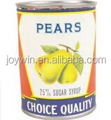 Canned pear regular slices