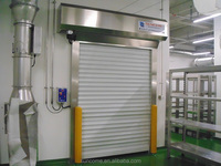 automatic aluminum panel fast rolling sutter door made in china