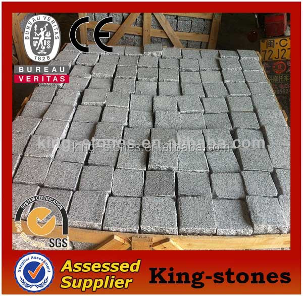 Paving Stone Type G603 Grey Cobblestone