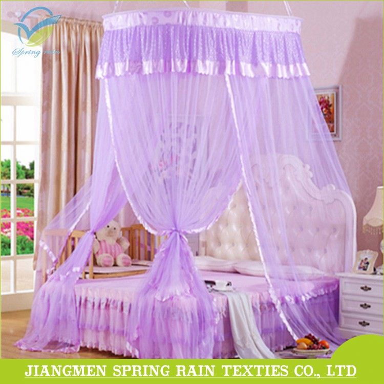 Custom design adult mosquito nets hanging beds canopy