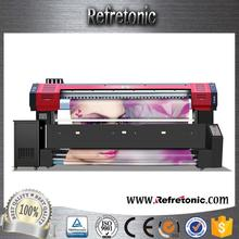 Inkjet Pigment Warp Knitting Fabric textile printer machine