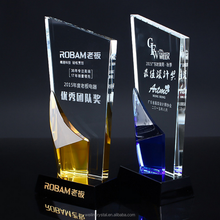 Alibaba china OEM quality crystal awards and trophy