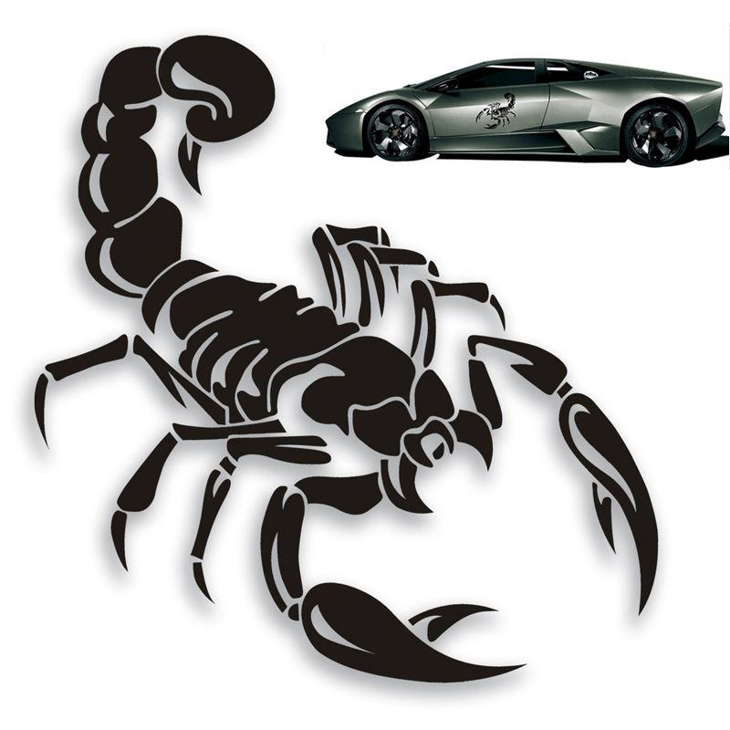 Cm D Cute Scorpion Motorcycle Car Stickers  Decals Decal - Car sticker decals