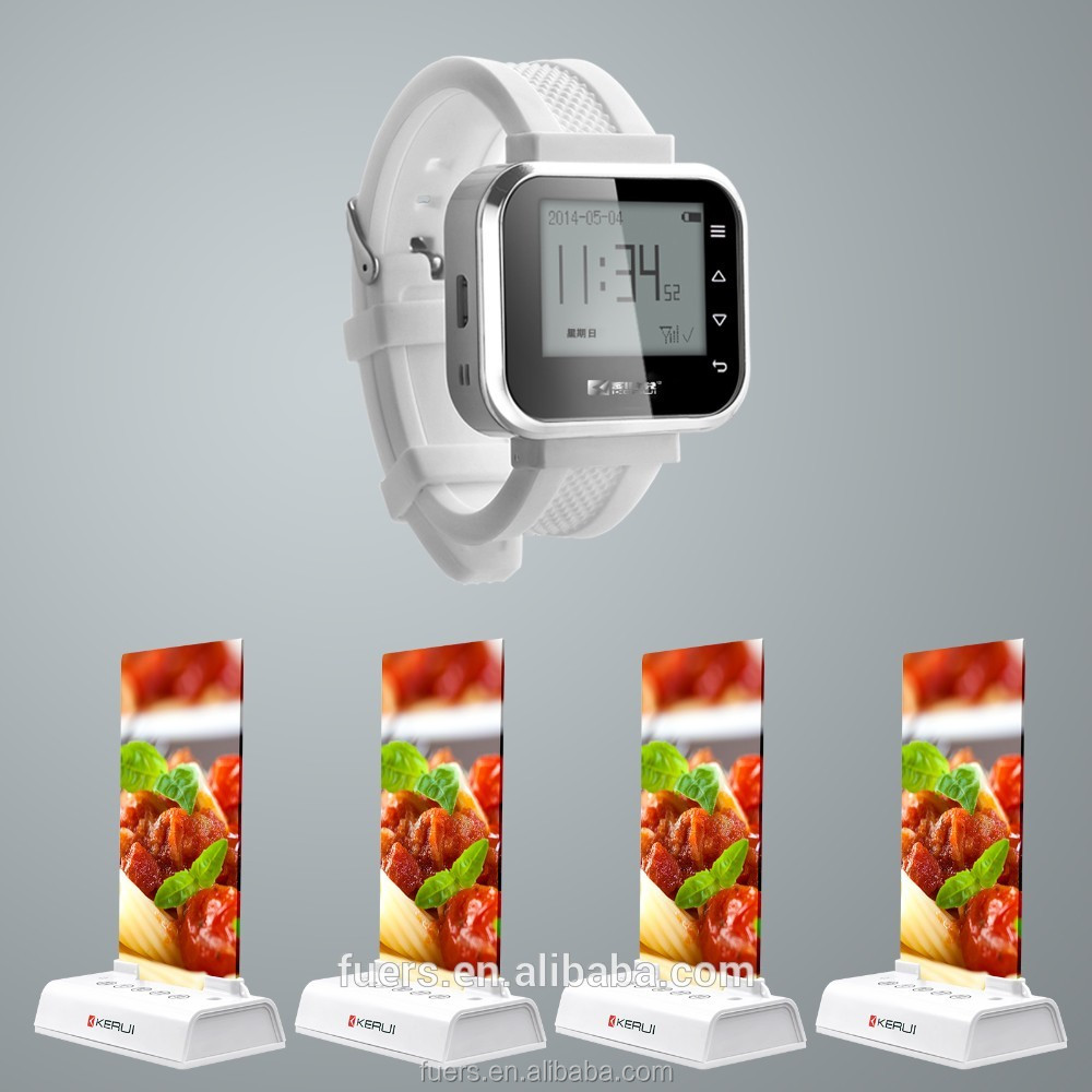 Creative designed menu call button for KFC McDonald Ice cream shop wireless waiter call system