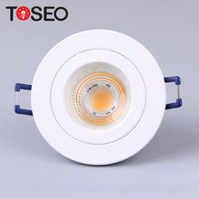 3W/5W/6W/35W/50W exchange IP20 Adjustable GU10 halogen die casting aluminium downlight ceiling light