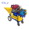 automatic wall plaster spraying mortar diesel machine construction tool