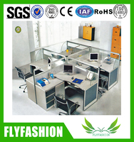 Newest Office Furniture/4 Person Workstation Partition OD-26