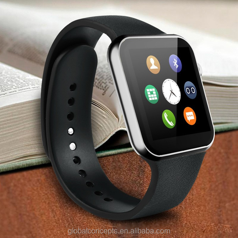 A9 heart rate monitor bluetooth smart watch wristwatch smartwatch phone for smart mobile phone