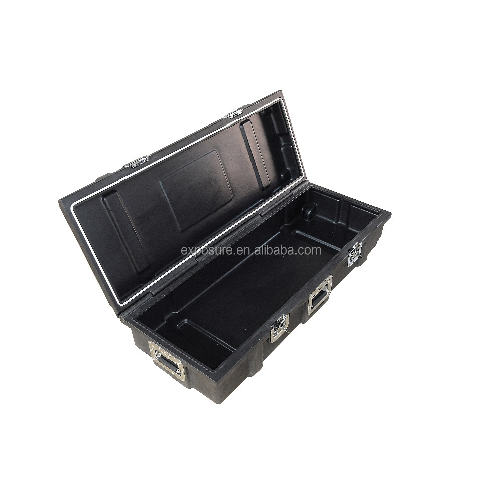 Plastic safety exhibition case hard plastic cases