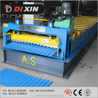 Factory Supply Metal Profile Steel Roof Panel Corrugation Cold Roll Forming Machine roll former corrugated roof sheet making mac