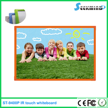 IR technology and colorful plastic frame interactive whiteboard for kids