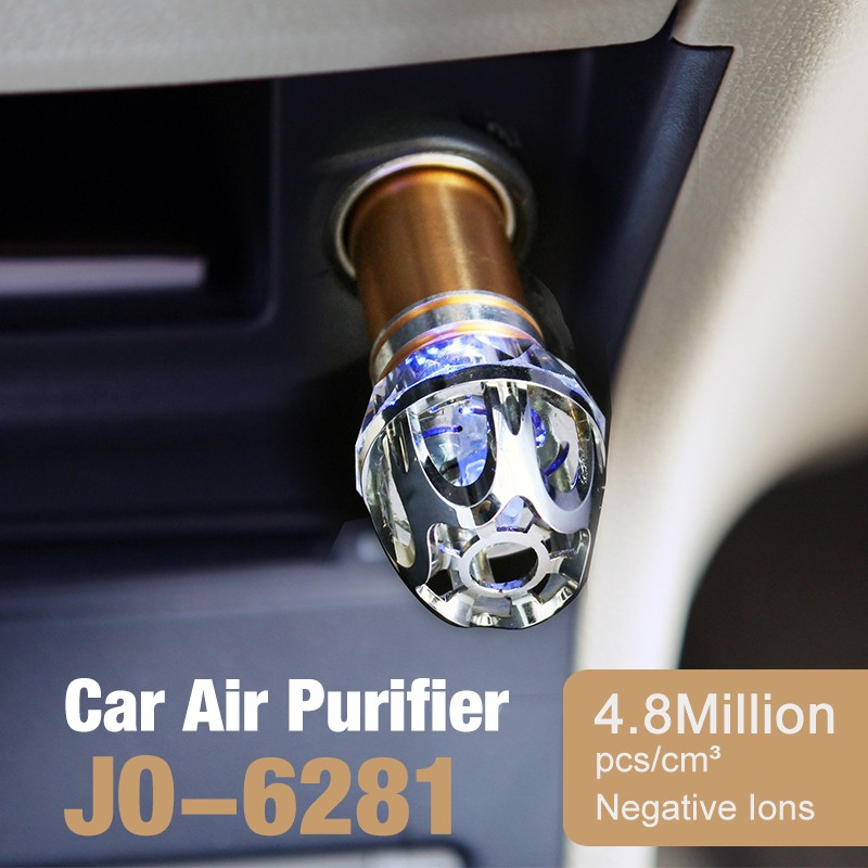 Best Selling Car Air Purifier JO-6281 For Car And Home With Great New Business Opportunity