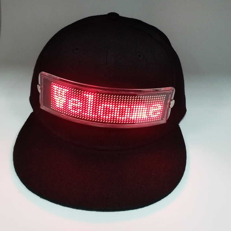 2018 New Design Advertising Function Cap Cotton <strong>Hat</strong> With Led Light
