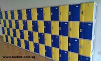 Swimming Pool Lockers - Rust Free ABS Plastic Locker