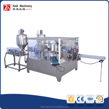 Wenzhou Kedi GD8-250 Stainless Steel Double Filling Sealing Given-bag Packaging Machinery