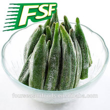 2015-2016 iqf frozen okra whole , cuts , chopped okra