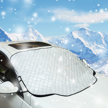 High Quality 4 Layers Car Sunshade Window Screen Cover Windshield Snow Cover with Magnet