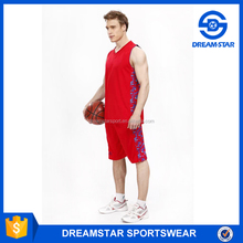 Fashion 2016-17 Hot Sale Promotion Basketball Uniform For Youth