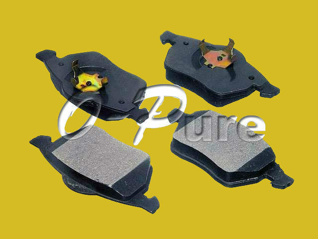 VW Pssat spare parts wholesale o-pure ceramic brake pads good quality best seller