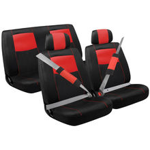Red Sport Mesh Combination Seat Cover Kit