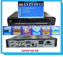 az fox hd satellite receiver S2S