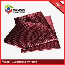 Customized cold forming aluminum foil metallic bubble wrap packaging luxury envelopes