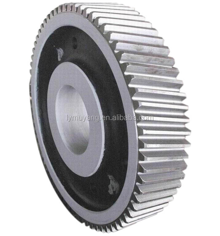 big metal helical gear wheel design