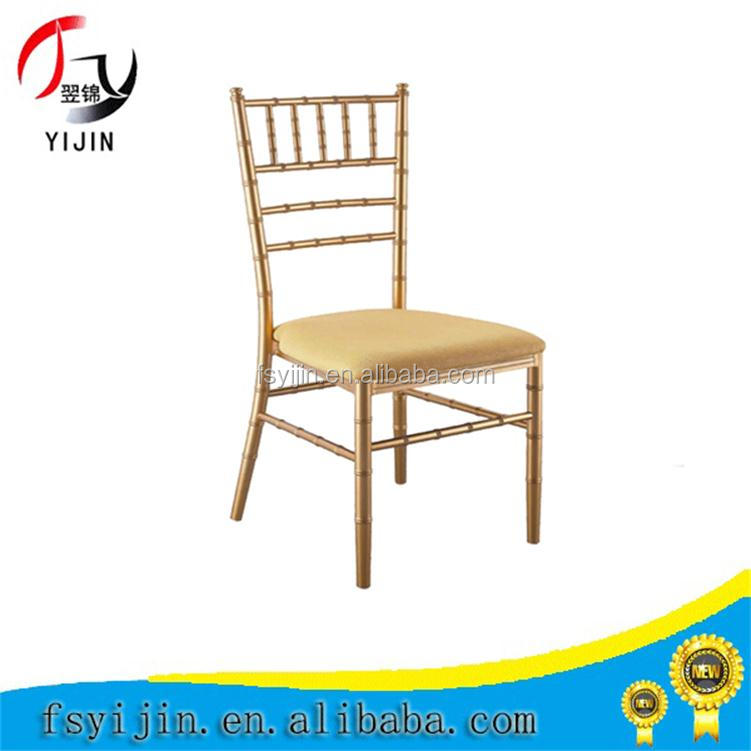 2016 new design iron bamboo chair for dining,restaurant metal chair